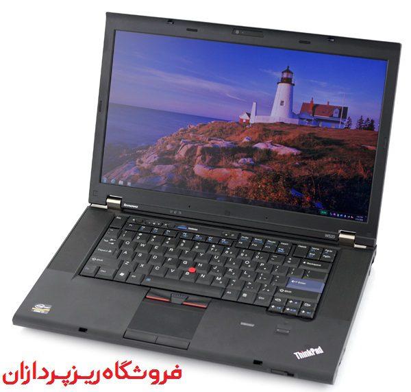 عکس لپ تاپ lenovo thinkpad w520